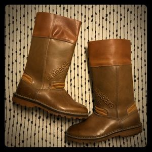 dd65fa3871659 Vintage Leather Alpinestars 70s Motorcycle Boots